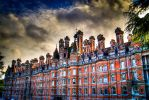 Rhul sunset HDR by fireoyster