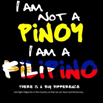 I am a Filipino by smartape