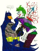 Batman VS Joker byWyA by CDL113