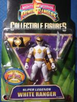 PR Super Legends White Ranger by kilp007
