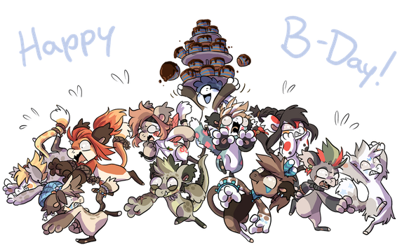 BB Birthday Movement 2 by QviCreations