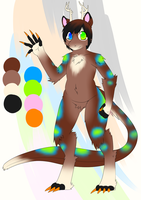 Custom Adopt: Sansunari by LovelessKia
