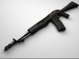 AN - 94 'Abakan' Assault Rifle: Perspect by Samouel