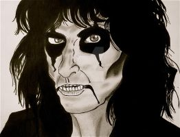 Alice Cooper drawing by AlicesArtMaiden