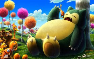 The Snorlax by priteeboy
