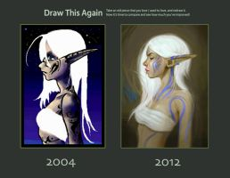 Draw This Again- 8 YEARS LATER by oneKATIE