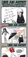 ...Like an artist, I think by Daidairo