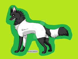 CLOSED 2 point canine adoptable by Wolfhorsegirly