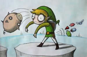 Link is Trying too Hard by BastardMerol