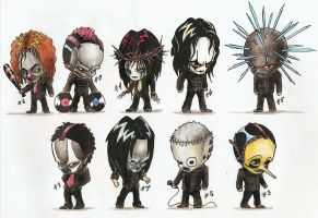 Chibi Slipknot by 89605818574