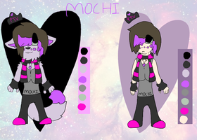 Mochi Human and Anthro Reference by Caution-Koneko
