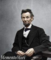 Abraham Lincoln by M3ment0M0ri