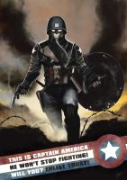 Captain America Zero by odingraphics