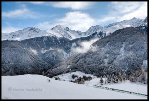 Austrian Mountains II by Haufschild