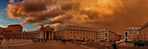 Sky over Rome by crh