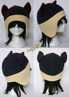 +FleeceHat:MadeToOrder+ Quilava Hats. by Stephys-Adoptables