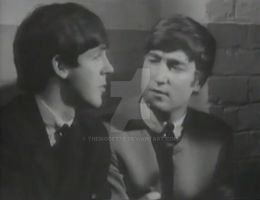 John staring at Paul's mouth 2 by themodette