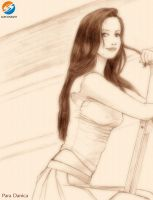 Danica Sweet Dreamgirl Sketch by AlexKnight