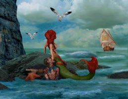 Ariel....The baddest Mermaid by kongvmax