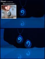 World of Warcraft Inspired Hearthstone Pendant by IvrinielsArtNCosplay