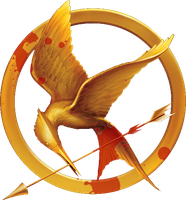 Hunger Games - Bloody Mockingjay Pin Concept by Kryptonaut