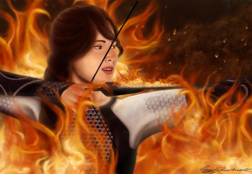 Catching Fire by LauraJaneArnold