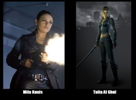 BATMAN Fan Cast - Talia Al Ghul V.1 by RobertTheComicWriter