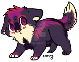 Point adopt puppy 1 SOLD by Skritnaja