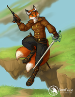 Arii the Adventurous by Red-Lynx