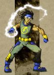 Static Shock_01 by KetsuoTategami