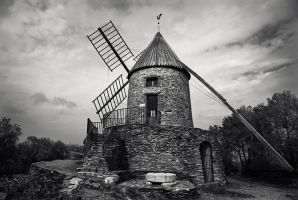 Le moulin by ThierryV