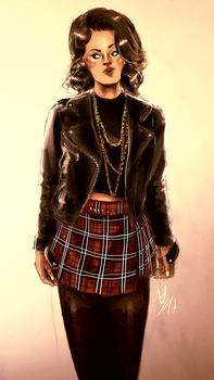 Ina-J Punk by thalle-my-honey