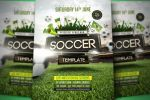 Soccer Flyer Template by pixelfrei