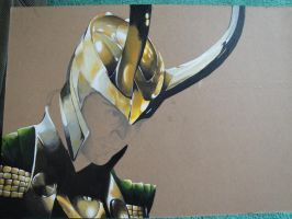 Loki WIP Finished Armour by MonochromeVisions