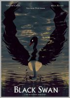 Black Swan Poster by shadothezombie