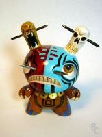 Mayan Warrior Dunny by bryancollins