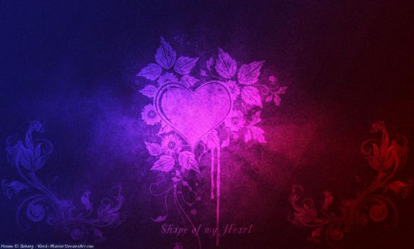 Shape of my Heart by Word-Master