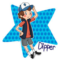 Gravity Falls: Dipper Pines by Abie05