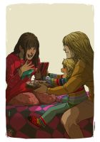 Faberry Happy B-day Mommy by patronustrip