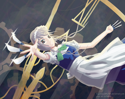 Stopping time - Izayoi Sakuya by FlightlessFlare