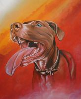 Banned Pit Bull by RavensLore