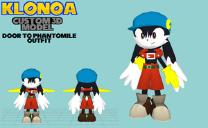 Klonoa Custom 3D Model - Phantomile Outfit by OrdoMandalore