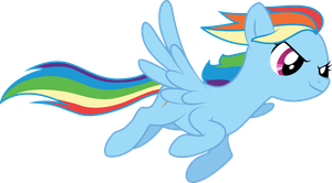 Soar, Rainbow Dash by xaiGatomon