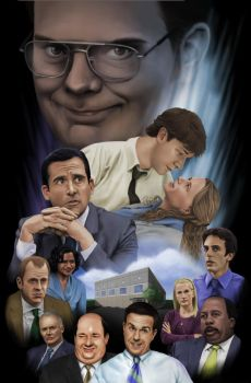 The Office Strikes Back by JRSly