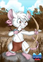An indian mouse by Onzeno