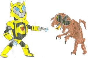 The Fly vs The Bumblebee by SithVampireMaster27