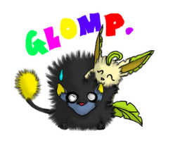 GLOMP. by Ninja-Psyduck