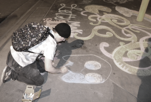 Chalk art 5 by TheDisappearingGirl