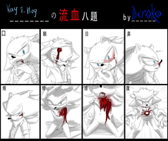 Bleeding meme by Deroko