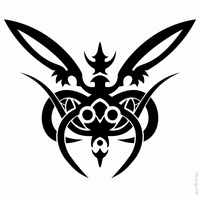 Butterfly tribal by nulazon